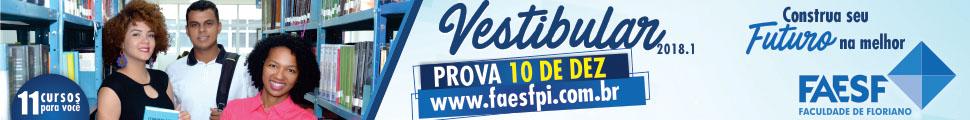 Faesf - Vestibular 10 de Dezembro