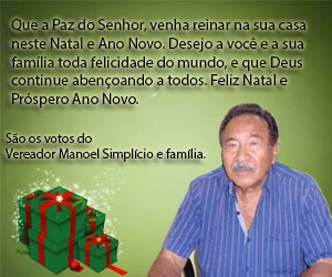 Manoel Simplicio - Final de Ano 2015