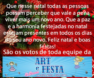 Art Festa L I Bonecas - Final de Ano 2014