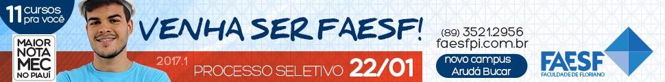 Faesf - Venha ser Faesf 2017