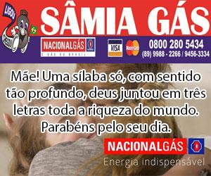 Samia Gas - Dia das Maes 2018