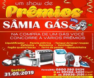 Sâmia Gás - Show de Premios