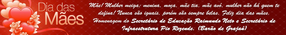 Secret�rio de Educa��o Raimundo Neto e Secret�rio