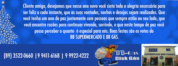 Final de Ano 2016 - BB Supermercado E BB G�s.