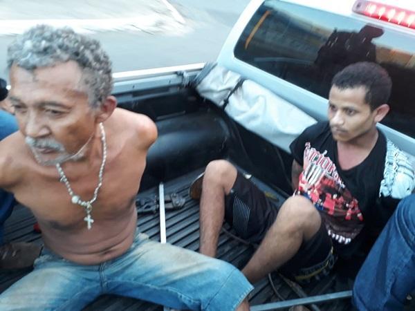 Operação integrada tira cinco criminosos de circulação em Floriano.(Imagem:Força Tática)