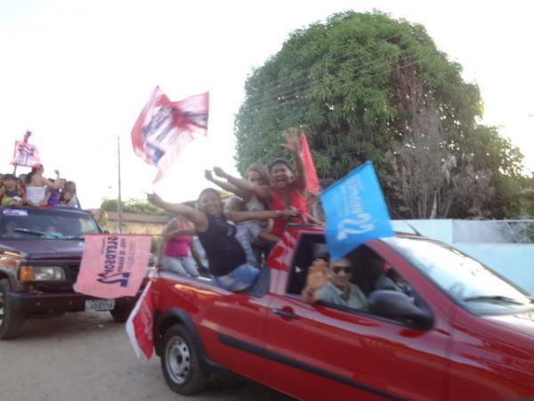 PR realizou carreata em Barão de Grajaú.(Imagem:  FlorianoNews)