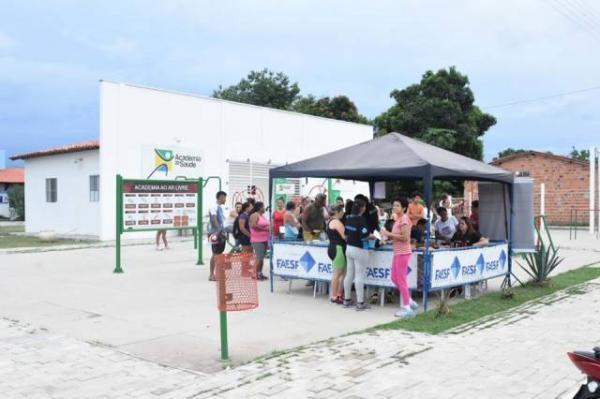 Saúde realiza mais uma ação ao Dia Mundial Contra a AIDS em Floriano.(Imagem:SECOM)