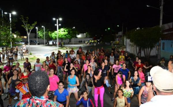 Aulão de Dança no Alto da Cruz mistura ritmos para o Carnaval.(Imagem:Secom)