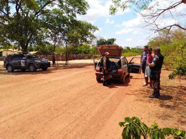 Patrulhamento Rural do 3°BPM realiza rondas ostensivas na região de Floriano.(Imagem:3° BPM)
