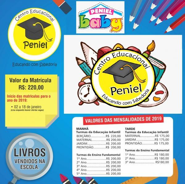 Campanha de Matrículas(Imagem:Centro Educacional Peniel)