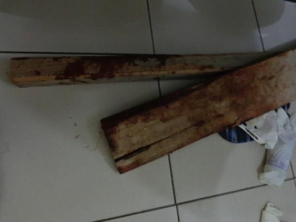Armas usadas no crime.(Imagem:FlorianoNews)