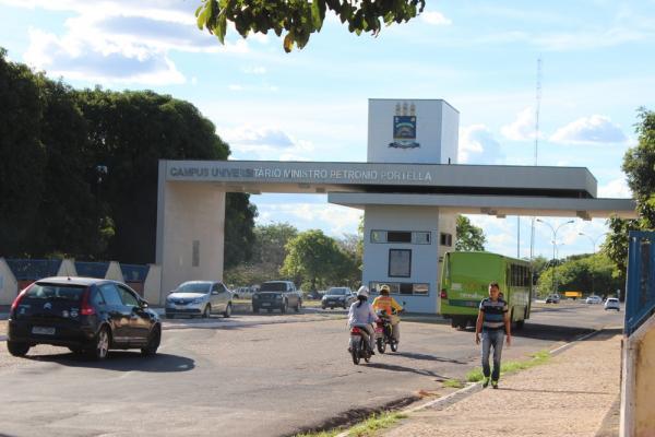 Universidade Federal do Piauí - UFPI.(Imagem:Fernando Brito/G1)