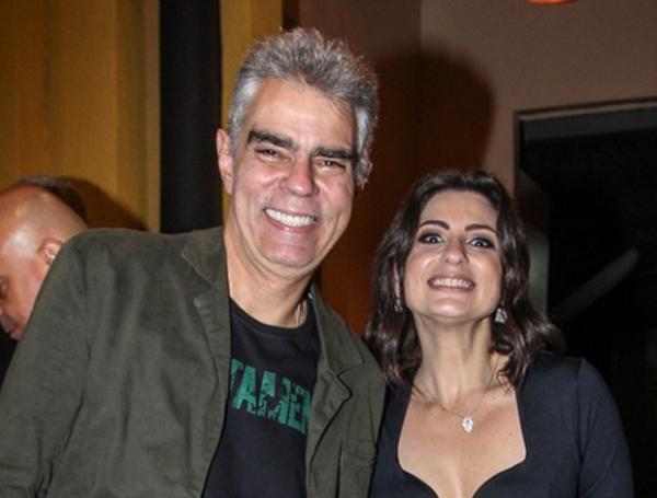 Nizo Neto e Tatiana Presser (Imagem:Marcello Sá Barreto/Brazil News)