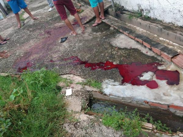 Vigilante é encontrado morto dentro de residência na Zona Leste de Teresina.(Imagem:Reprodução / WhatsApp)