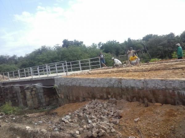 Construção da ponte do bairro Taboca entra na fase final.(Imagem:FlorianoNews)