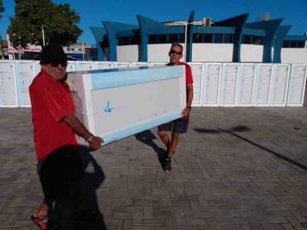 Equatorial Energia faz sorteio e entrega de geladeiras em Floriano.(Imagem:FlorianoNews)