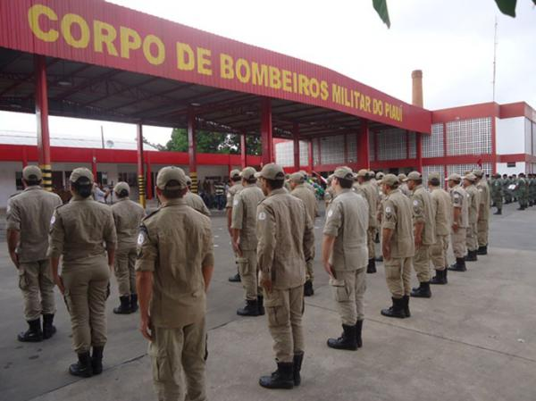 Corpo de Bombeiros do Piauí(Imagem:WilsonFilho/CidadeVerde.com)