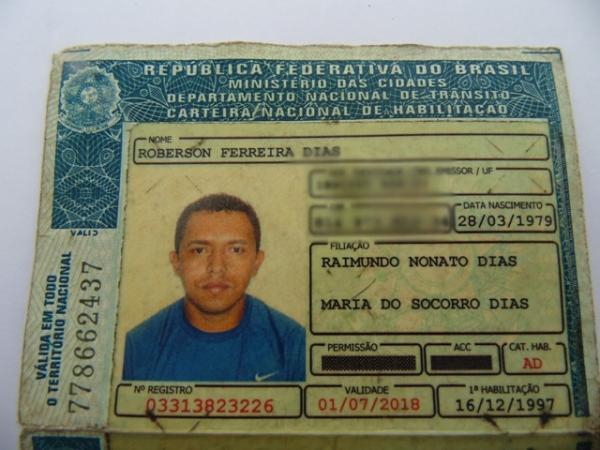 Roberson Ferreira(Imagem:Polícia Civil)