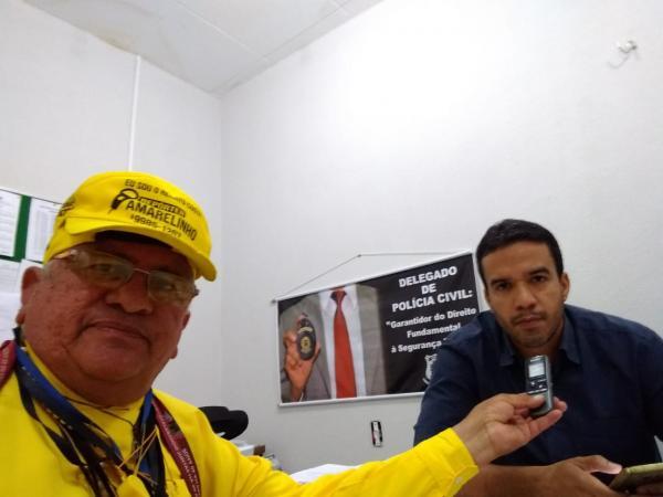 Delegado Regional, Bruno Ursulino.(Imagem:FlorianoNews)