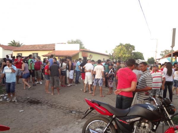 PMDB realizou concentração em Barão de Grajaú. (Imagem:FlorianoNews)