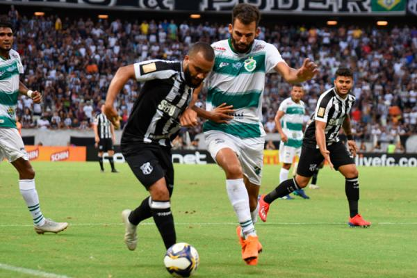 Ceará faz 2 a 1 e Altos sofre primeira derrota na Copa do Nordeste.(Imagem:Divulgação)