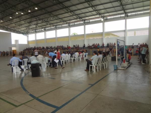 Realizado o sorteio das casas do Novo Retiro. (Imagem:FlorianoNews)