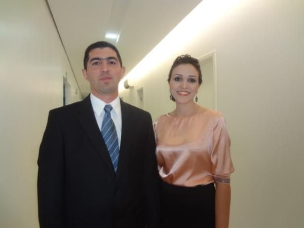 Dr. Walter Bucar e Dra. Juliana Bucar(Imagem:FlorianoNews)