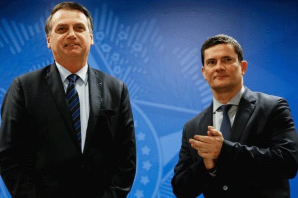 Crise: Bolsonaro indicou cinco nomes para integrar o Cade, vinculado ao MJ, sem consultar o ministro Moro.(Imagem:Carolina Antunes/PR/Flickr)