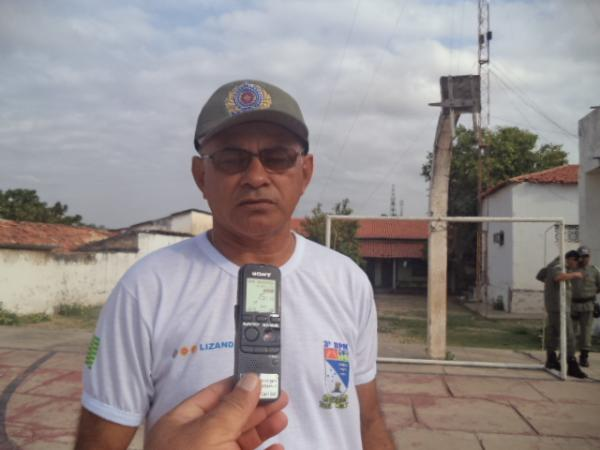 Tenente Coronel Lisandro Honório(Imagem:FlorianoNews)