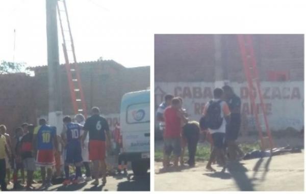Adolescente morre após cair de poste em Barão de Grajaú.(Imagem:Divulgação)