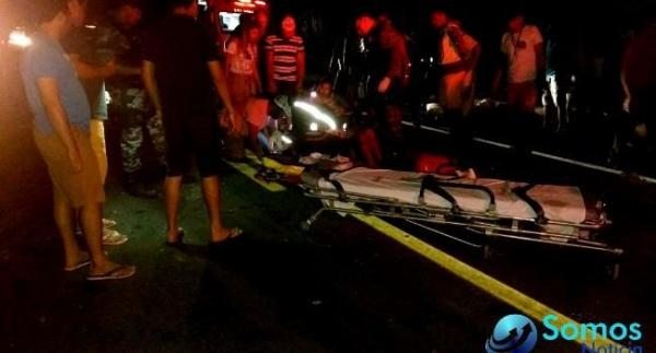 Acidente entre Floriano e Água Branca deixa uma pessoa morta e quatro feridas.(Imagem:Força Tática)