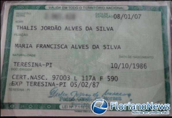 Jovem morre em acidente de moto na ponte que liga Floriano à Barão de Grajaú(Imagem:FlorianoNews)