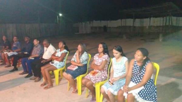 Moradores do bairro Tamboril participam de culto em ação de graças.(Imagem:FlorianoNews)