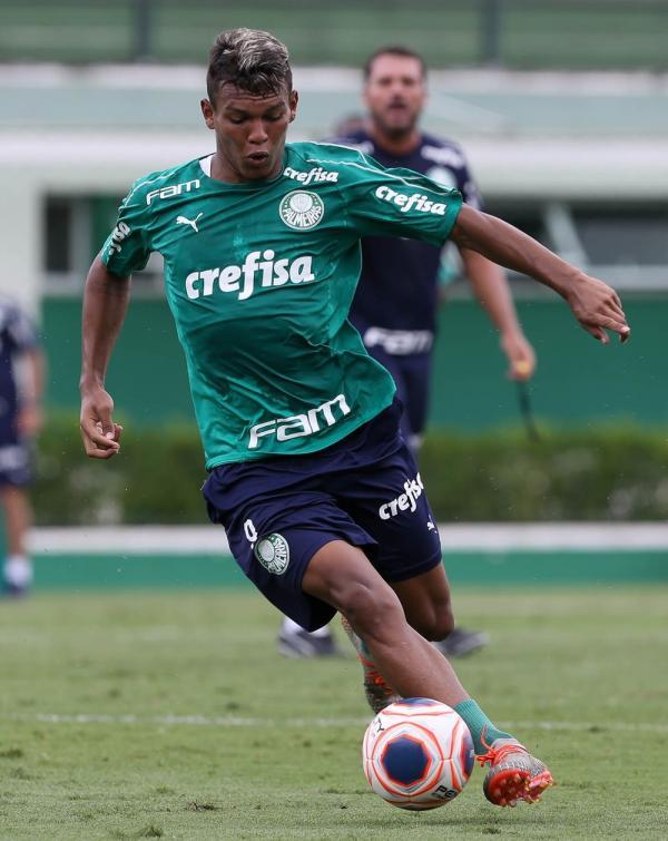Gabriel Veron vive expectativa por mais chances em 2020(Imagem:Cesar Greco / Ag Palmeiras)