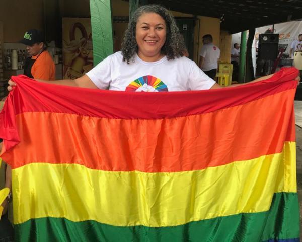 Parada da Diversidade vai fortalecer tom político e terá show de Sandra de Sá.(Imagem:Yala Sena/ Cidadeverde.com)