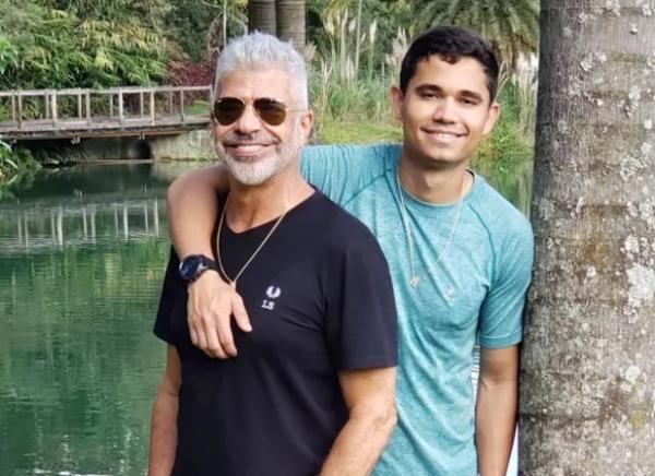 Lulu Santos e Clebson Teixeira(Imagem:Reprodução/Instagram)