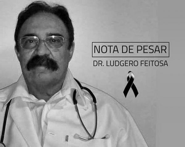 Amigos lamentam morte do médico Ludgero Feitosa.(Imagem:Reprodução/Facebook)