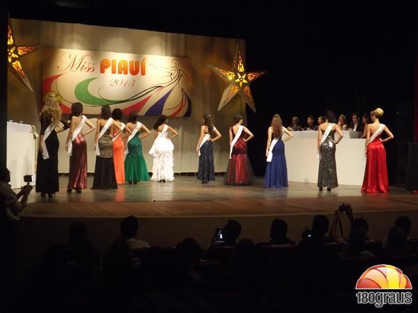 Miss Piauí 2013(Imagem:180graus)