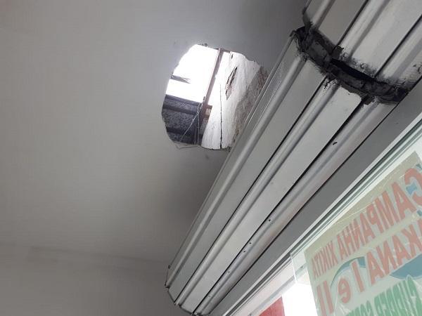 Loja de roupas é arrombada no centro de Floriano.(Imagem:Jc24horas)