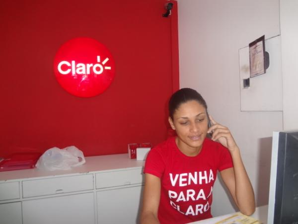 Operadora Claro já atua há 6 anos em Floriano.(Imagem:FlorianoNews)