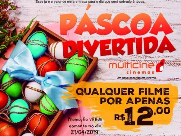 Páscoa Divertida (Imagem:Multicine Cinemas)