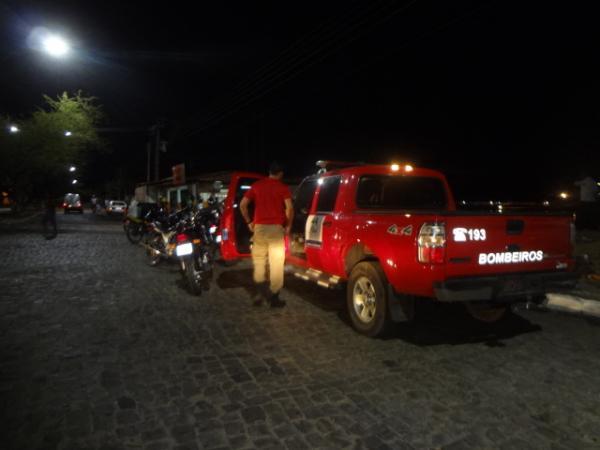 Bombeiros resgatam corpo de homem afogado no Rio Parnaíba.(Imagem:FlorianoNews)