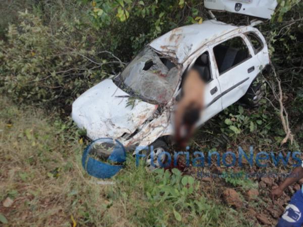 Acidente na manhã de hoje na BR-230 próximo a Floriano deixa um morto(Imagem:FloriaoNews)