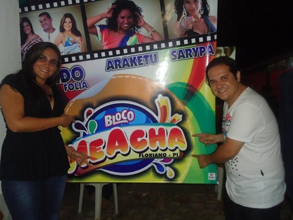 Bloco Me Acha 2012(Imagem:FlorianoNews)