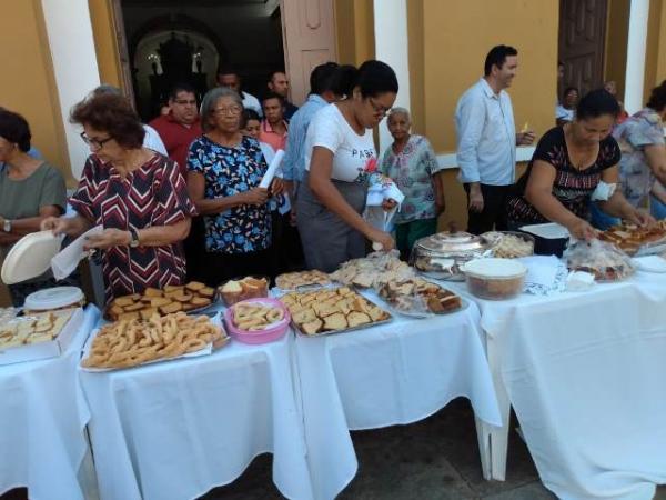 Festejo de são Pedro de Alcântara é aberto em Floriano(Imagem:FlorianoNews)