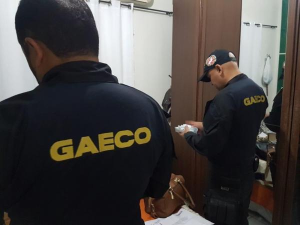 Gaeco atua em operação no Piauí.(Imagem:Divulgação/Gaeco)