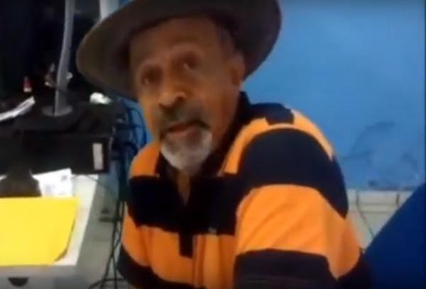 Policial reformado João Batista(Imagem:Reprodução/TV Tropical)