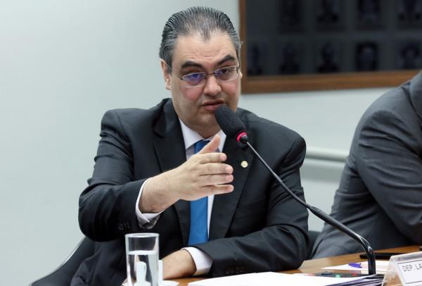 O deputado Lafayette de Andrada, relator do projeto anticrime na Câmara(Imagem:Claudio Andrade/Câmara dos Deputados)