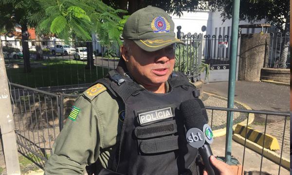 Tenente-Coronel Maurício de Lacerda(Imagem:Izabela Pimentel/Cidadeverde.com)
