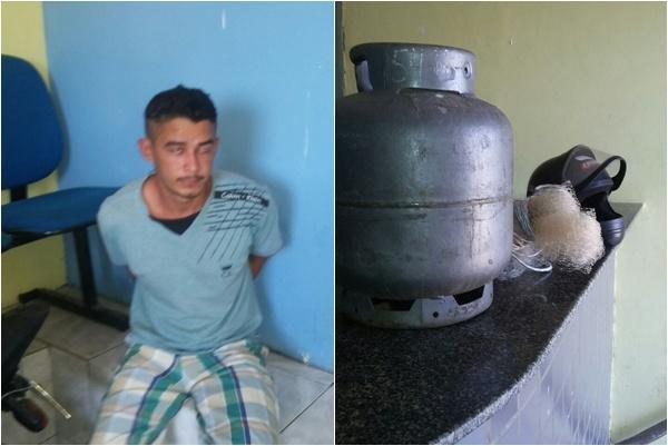 Homem é preso por furto e delata receptadores em Barão de Grajaú.(Imagem:Reprodução)